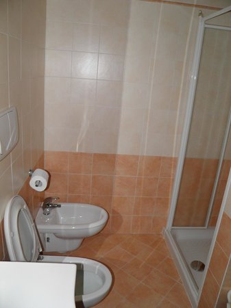 Hotel Residence Miralago Manerba del Garda : Shower