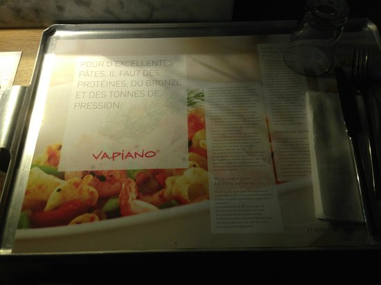 Vapiano Kirchberg : piatto