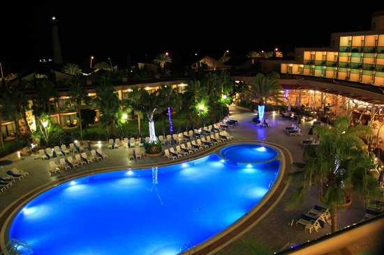 Hotel Faro Jandia & Spa: Evening View from 529