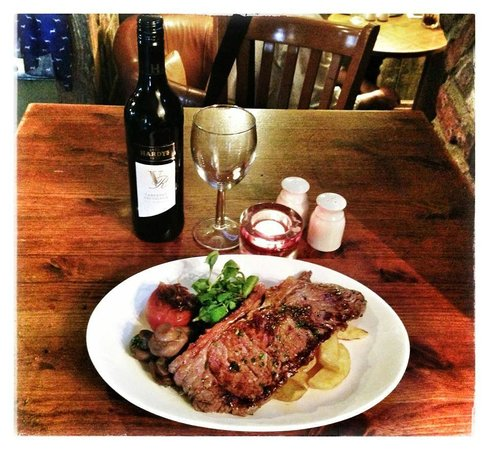 The Mill House Bar & Restaurant: Fillet Steak Rossini
