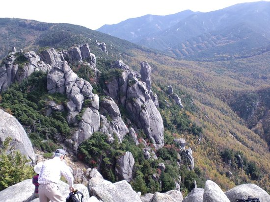 Mt Mizugaki Nature Park: Southeast direction from the summit