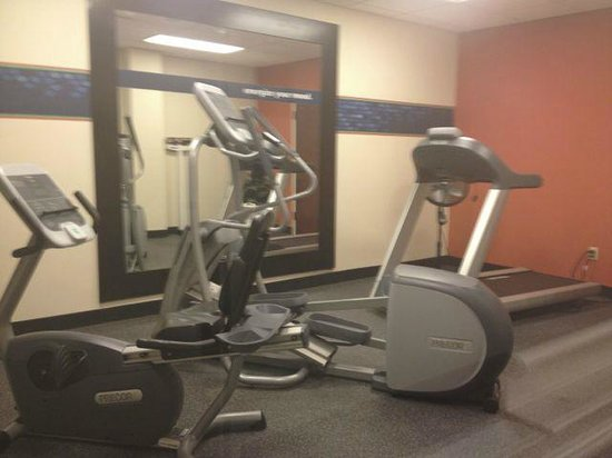 Hampton Inn Ithaca: Fitness Room