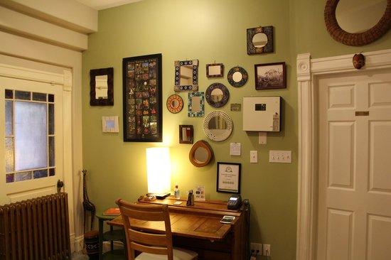 Cloudside Hotel: Reception