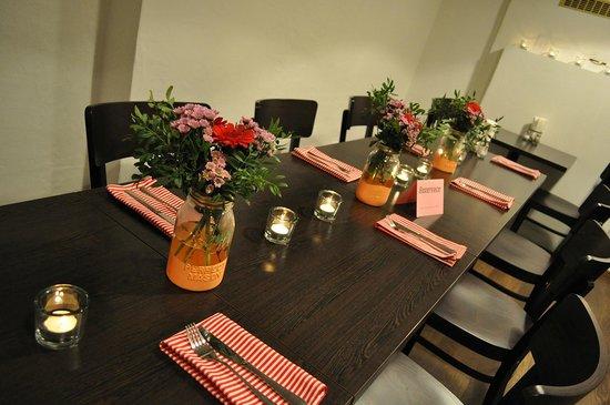 Restaurace Orisek: decoration for birthday reservation