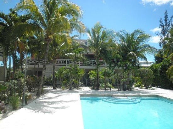 Caribbean Paradise Inn: Pool area