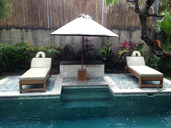 The Sanyas Suite Seminyak: Can even consider massages here