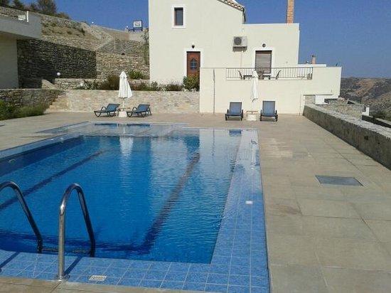 Lenikos Resort: Vue de notre terrasse