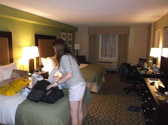 Holiday Inn & Suites Across from Universal Orlando: Vista do quarto