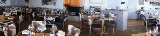 Lamoura, Frankrike: La salle du restaurant