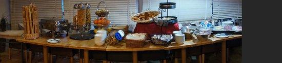 Lamoura, Francja: Le buffet du petit déjeuner