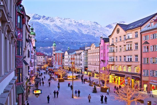 maria theresien straße advent picture of innsbruck tirol