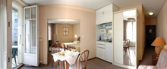 Residence Cite-Verdaine: Junior Suite for two or three