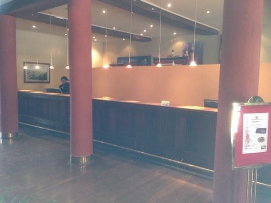 سبيك هوتل: Speke Hotel Reception