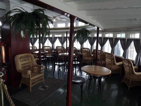 S.S. Klondike : Dinning room