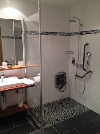 Les Jardins d'Hardelot : Salle de bain