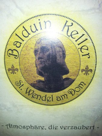 Balduin Keller: Logo der Speisekarte
