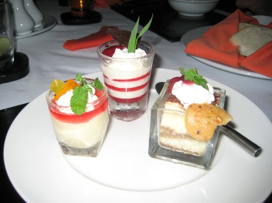 Marriott Hua Hin Resort & Spa: Dessert.