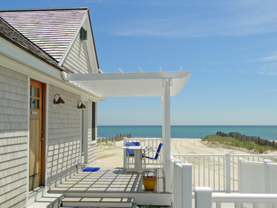 Inn On The Beach House Deck