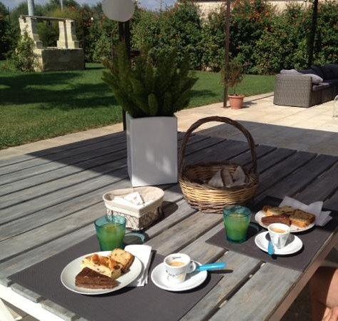 Masseria Vittoria : colazione in masseria