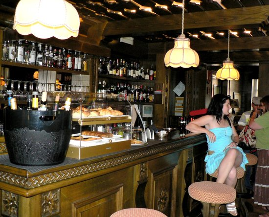 Sporting Residence Hotel: The American Bar - excellent coffee and not only!