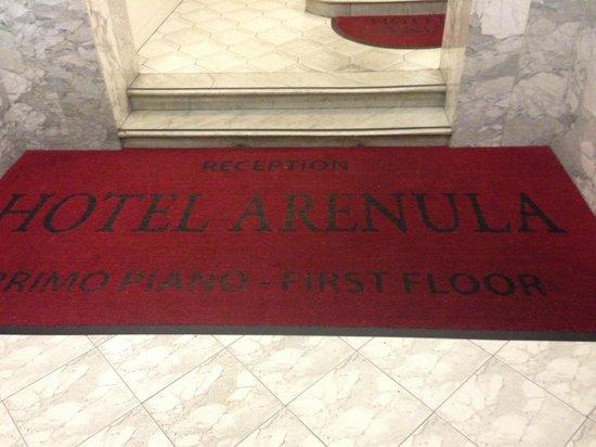 Hotel Arenula : Entry Mat