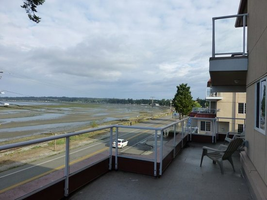 Sandcastle at Birch Bay : Our 3rd Floor Balcony