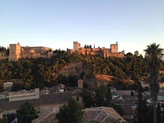 Las-Tres-Terrazas: Blick von der Terrasse