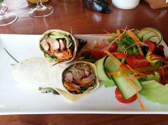 The Rainforest Cafe : crocodile wrap