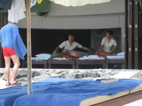 Banana Fan Sea Resort: massage på hotellet.