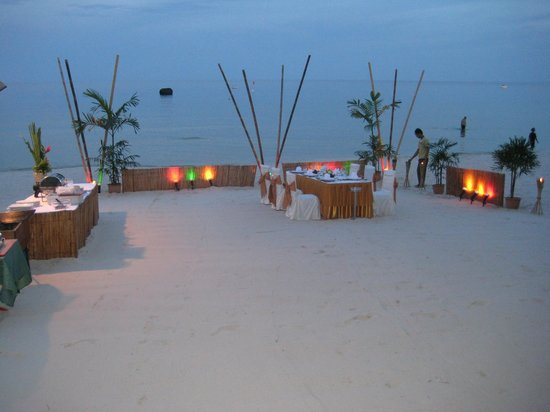 Banana Fan Sea Resort: Alle sejl er sat til.