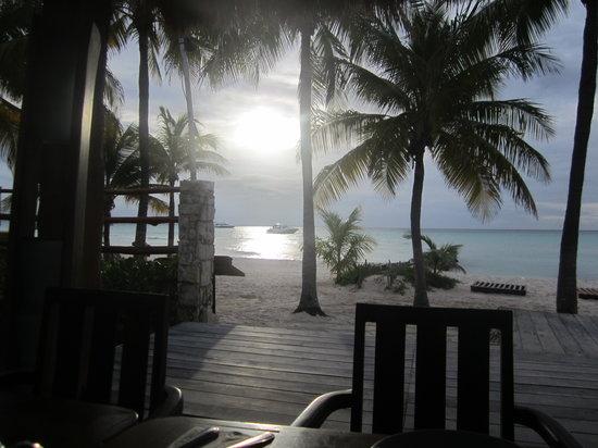 Na Balam Beach Hotel : Excelente su restaurante