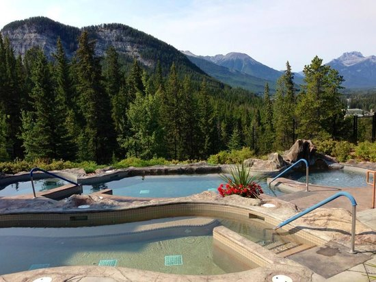 Hidden Ridge Resort: View of the two pools