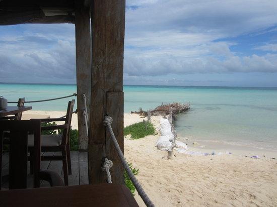 Na Balam Beach Hotel : vista del restaurante del hotel