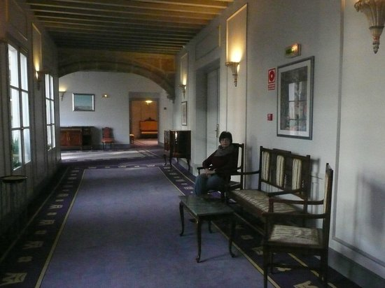 Palacio de los Velada: Pasillos del hotel
