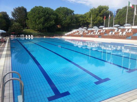 Atahotel Naxos Beach : Olympic pool