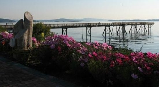 By the Sea BnB: The Pier in Sidney BC. Walk on out, watch the crabbing!