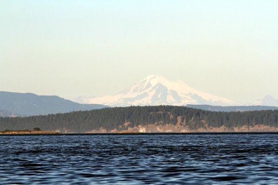 By the Sea BnB: See Mt. Baker from The OceanView Room windows