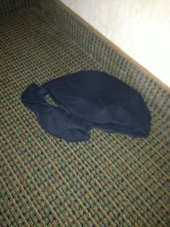 Holiday Inn Express Denver Downtown: Someone's underwear in the room