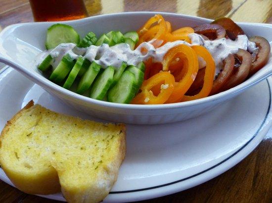 Rose and Griffon: Raita salad
