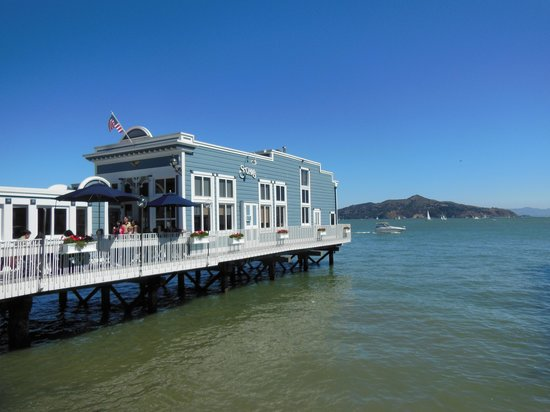 Scoma's Of Sausalito: View from the Street