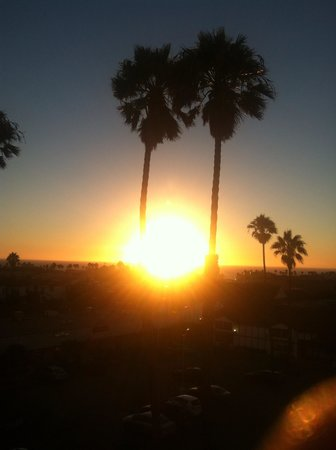 Palos Verdes Inn: View from 4th floor