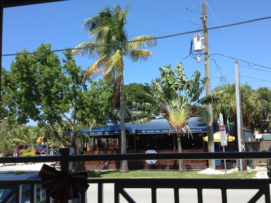 The Broken Egg: View from outside deck