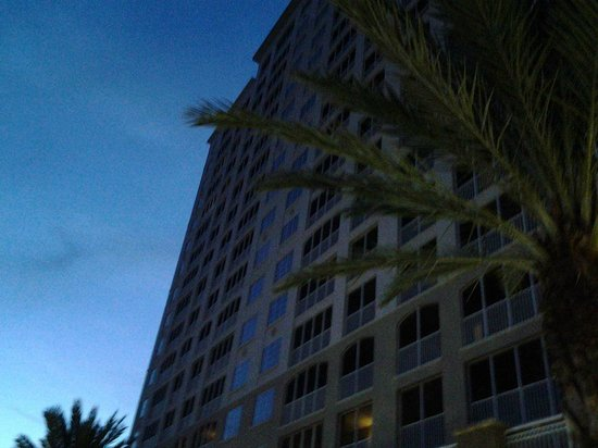 The Westin Cape Coral Resort At Marina Village: The Hotel at Dusk