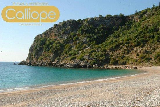 Villa Calliope: Livadi Beach