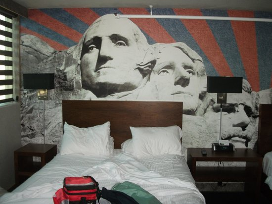 The Rushmore Hotel & Suites: Meet the Presidents
