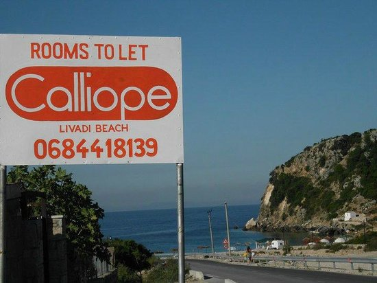 Villa Calliope,Entrance