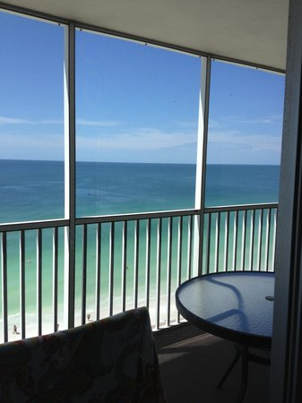 Crystal Sands: View from the balcony