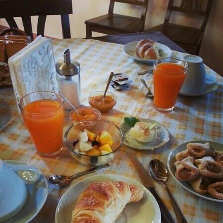 Borgo Monachella : la colazione