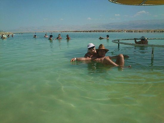 Leonardo Club Dead Sea Hotel : Это я с женой....