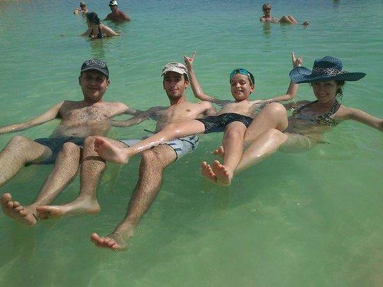 "Leonardo Club Dead Sea Hotel : Это дочь со своей семьёй ""балдеет""""!"